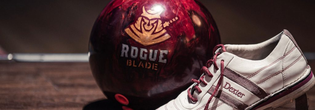 Rogue Blade Bowling Ball & Dexter Shoes